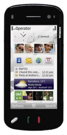 Мобильный телефон Nokia 97, Финляндия