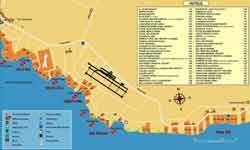 Карта отелей Шарм эль-Шейха Египет