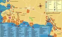 Карта Шарм-эль-Шейха Египет